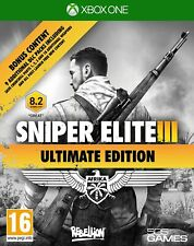 Sniper Elite III 3 Ultimate Edition XBOX ONE