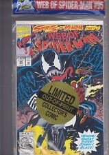 "Web Of Spider-Man #95, Dec. 1992, Venom limited ""collectors edition"" poly bagged"