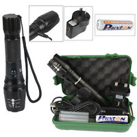 G700 20000 Lumens X800 Shadowhawk USB Flashlight XM-L T6 LED Zoomable Torch