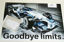 Book Goodbye Limits – BMW Williams F1 Team 2005 season incl large Poster