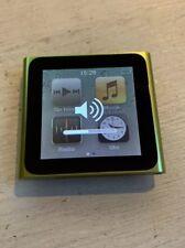 Apple iPod nano 6. Generation Grün (8GB)