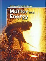 McDougal Littell Middle School Science: Student Edition Grades 6-8 Matter and E