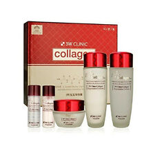 DoDo 3W Clinic Collagen Skincare System set (Softener, Emulsion, Cream)