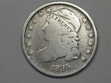 1835 Silver US Capped Bust Dime (Cleaned). #1