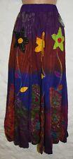 New Fair Trade Cotton Skirt 10 12 14 - Hippy Ethnic Ethical Boho Hippie Gypsy