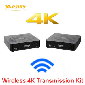 Measy W2H 4K 30M HDMI Wireless HD Extender Video Audio Transmitter TV Broadcast