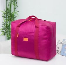 Foldable Travel Cabin Luggage Bag [Purple]