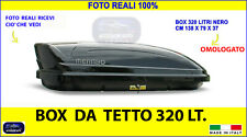 Box tetto Renault Espace baule auto portatutto nero universale chiavi per pacchi