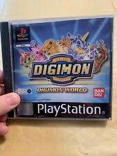 Digimon World - Black Label Complete With Manual  PS1 - Retro Game