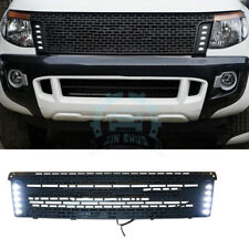 For Ford Ranger T6 2012-2014 Plastic Vent Hole Front Grill Grille LED