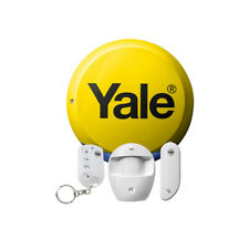Yale Easy Fit Starter Security Burglar Alarm Kit System with Siren & Remote Fob
