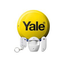 Yale Fácil Ajuste Kit Alarma De Seguridad Sistema Antirrobo de arranque con Sirena & Remoto Fob