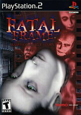 Fatal Frame PS2 PlayStation 2 [Tecmo Project Zero Horror] Brand New