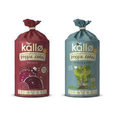 Kallo Veggie Cakes Mixed Pack (Beetroot + Spinach & Pesto)