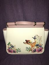 LOUNGEFLY Disney Bambi Thumper Floral Purse Shoulder Hand Bag Satchel Crossbody
