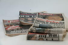 More details for newspaper collection 9/11 terrorist attacks 11th september 2001 new york x6