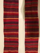 Garnet Hill MP Tights Size 120 7-8 Danish Tights NWOT Red Multi Stripe