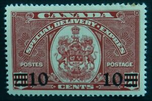 Canada 1939 10c on 20c  Special Delivery SG S11 Mint hinged Cat £10