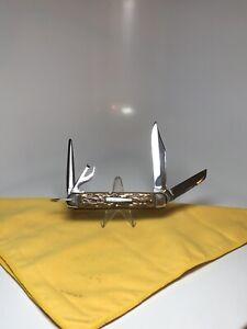 VINTAGE REMINGTON BULLET Knife R4243 Excellent Condition 1920-1930s