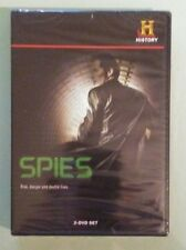 the history channel  SPIES risk danger and double lives  DVD NEW  2 disc set