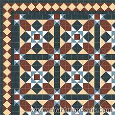 Unglazed Victorian design tiles interior & exterior  £174.00 per sqm²