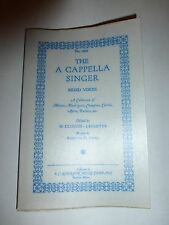 The A Cappella Singer Mixed Voices 1964 Motets,Madrigals,Chanfons,Carols,Ayre214