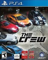 The Crew (Sony PlayStation 4, 2014) COMPLETE UBISOFT FAST SHIPPING ! PS4