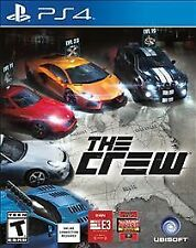 PLAYSTATION 4 THE CREW BRAND NEW - FREE 1ST CLASS SHIPPING WITH TRACKING