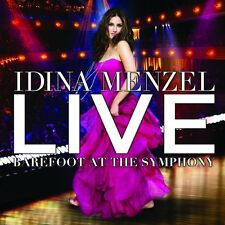 Idina Menzel - Live: Barefoot at the Symphony [New CD] With DVD