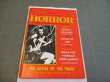 THE MAGAZINE OF HORROR   DECEMBER 1969  ISSUE #30 RARE PULP DIGEST