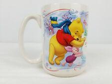Winnie The Pooh Coffee Mug Walt Disney Winter Tigger Eeyore Piglet Collectible