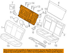 FORD OEM 12-14 Focus Rear Seat-Seat Back Frame CV6Z58613A38A