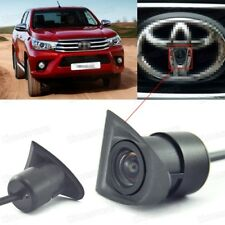 HD CCD Car Front View Camera Logo Embedded for Toyota Hilux VIGO 2016 2017 2018