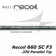Quantity 7 Shafts - UST Mamiya Recoil 660 Smoke Chrome F3 - R .370 Parallel Tip