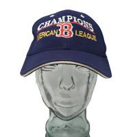 Boston Red Sox Baseball Cap MLB Embroidered Blue OSFM Strap Back Hat