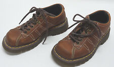 DR. MARTENS DM'S MENS BROWN LEATHER #9764 AIRWAIR SHOES SIZE 5US/4UK/37EU in EUC