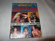 May 1985 CREEM Close Up Rock Magazine Heavy Metal Twisted Sister Iron Maiden