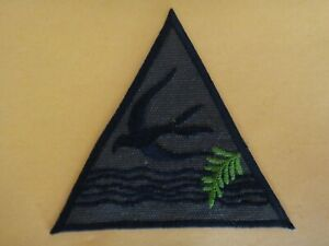 Vietnam War ARVN Special Forces CIDG Group SEA SWALLOWS Subdued Patch