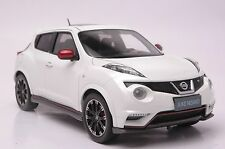 Nissan Juke Nismo RS car model in scale 1:18 white