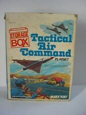 Vintage MARX TACTICAL AIR COMMAND PLAYSET Storage Box ONLY