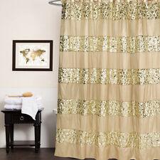 "Popular Bath Sinatra Champagne Collection - 70"" x 72"" Bathroom Shower Curtain"