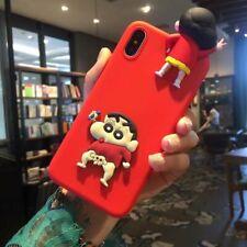 3D Japanese Cartoon Anime Cute Creative Silicone Case Cover For Various Phones