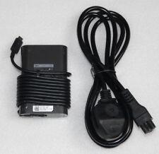 Nuevo Genuino Dell Latitude 13 7370 65W Usb-C Cargador Adaptador LA65NM170 2YK0F