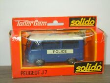 Peugeot J7 Police - Solido 372 France 1:50 in Box *45496