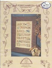Alphabet Letters Sampler Cross Stitch Chart Purely Samplers Summer Harmony