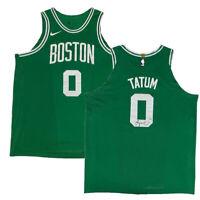 JAYSON TATUM Autographed Boston Celtics Nike Green Authentic Jersey FANATICS