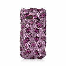For HTC Droid Incredible (LTE version) Purple Pink Hard Diamond Case Cover