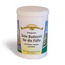 Sole BIO - Badesalz für die Füße 1000 g Fußbad