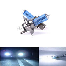 2PCS H4 100W XENON WHITE HEADLIGHT BULBS 6000K SUPER HIGH POWER BRIGHT COLOUR