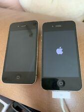 Iphone 4 16gb Negro EE Naranja x 2